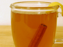 ginger honey cinnamon tea